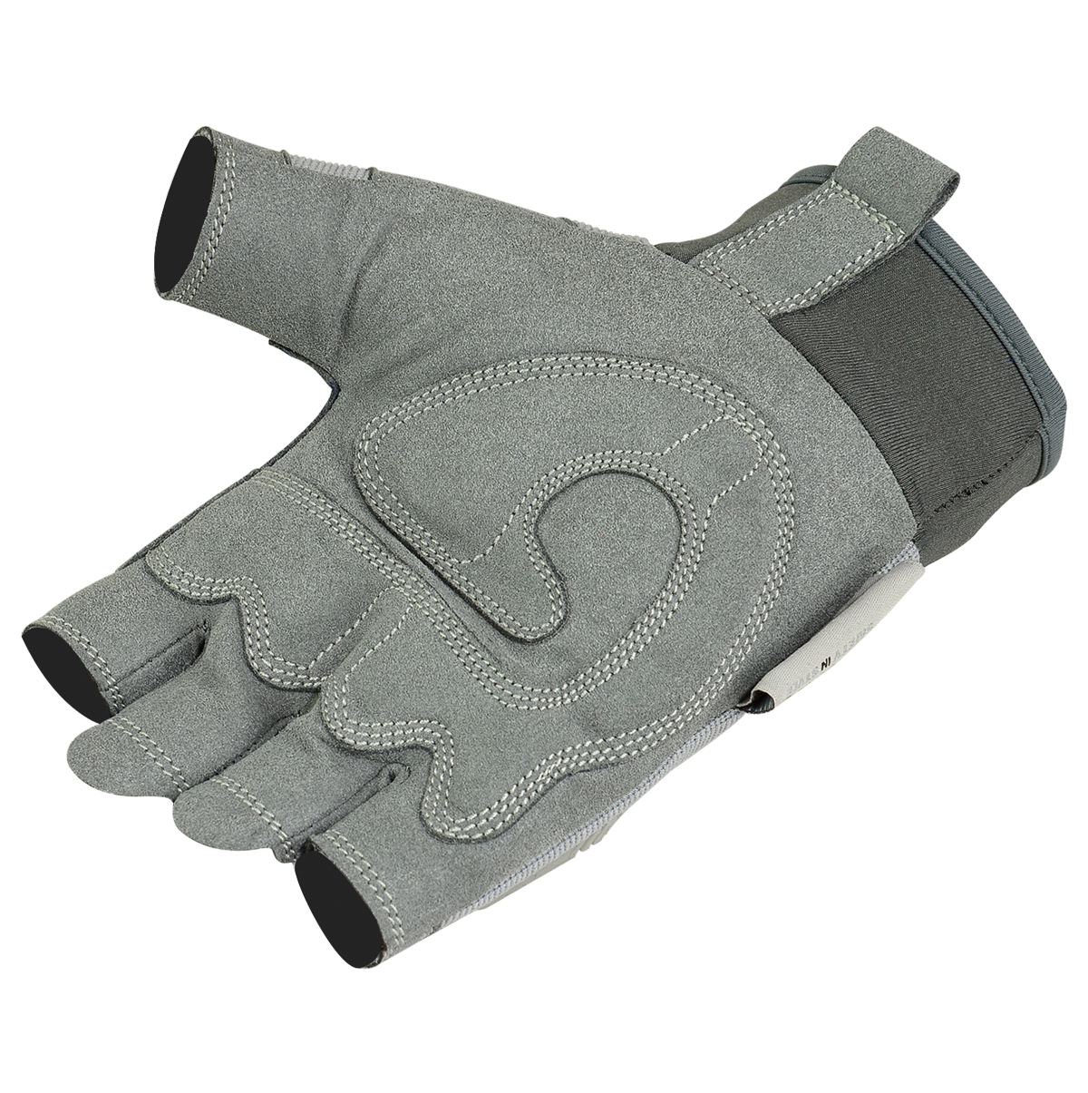 Fingerless impact gloves - Click On Image See The Super Zoom